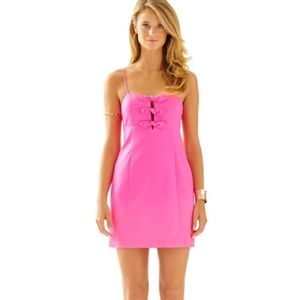 Lilly Pulitzer l Petra Tropical Pink Dress Size 2